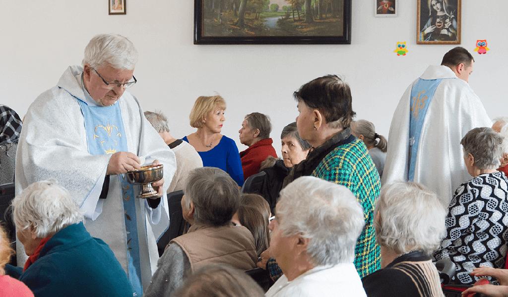 Eucharystia w szpitalu