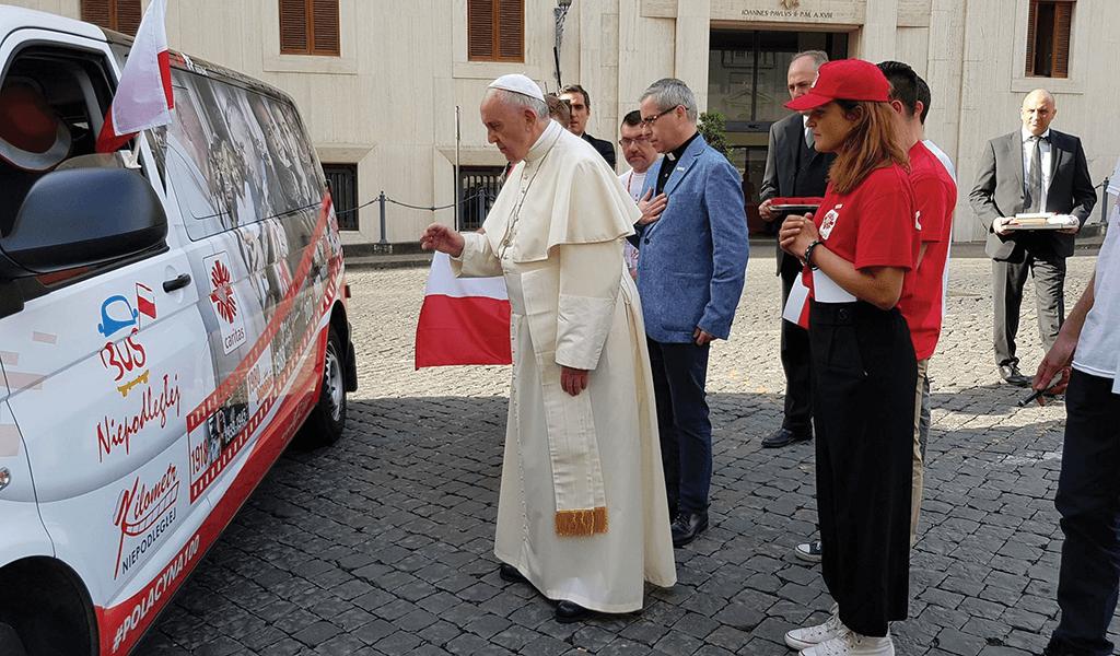 Niech żyje Polska! Franciszek do Polaków