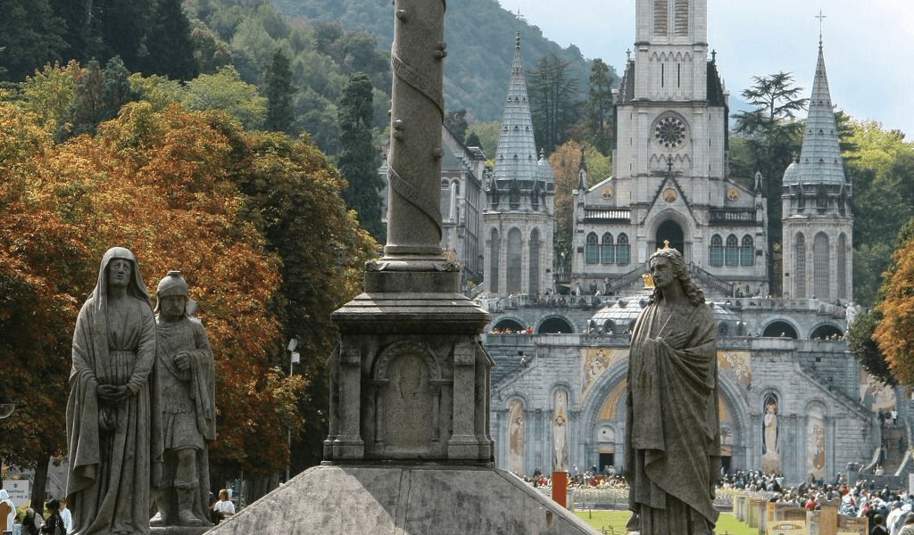 Moje pielgrzymki do Lourdes