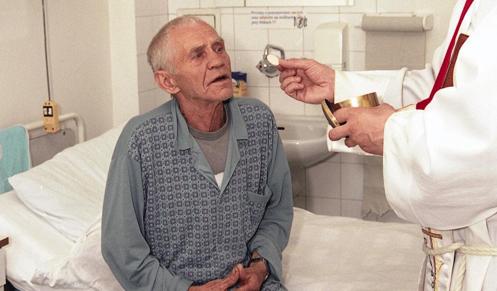 Opieka duszpasterska w szpitalu